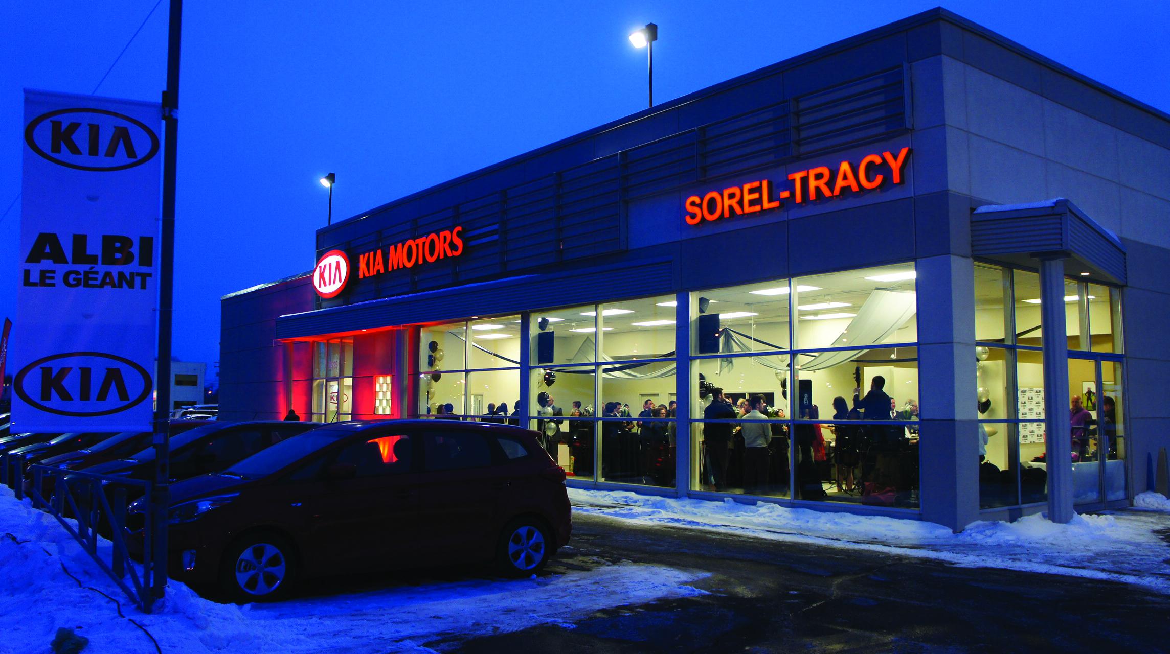 Le groupe Albi ouvre son nouveau concessionnaire Kia à Sorel-Tracy