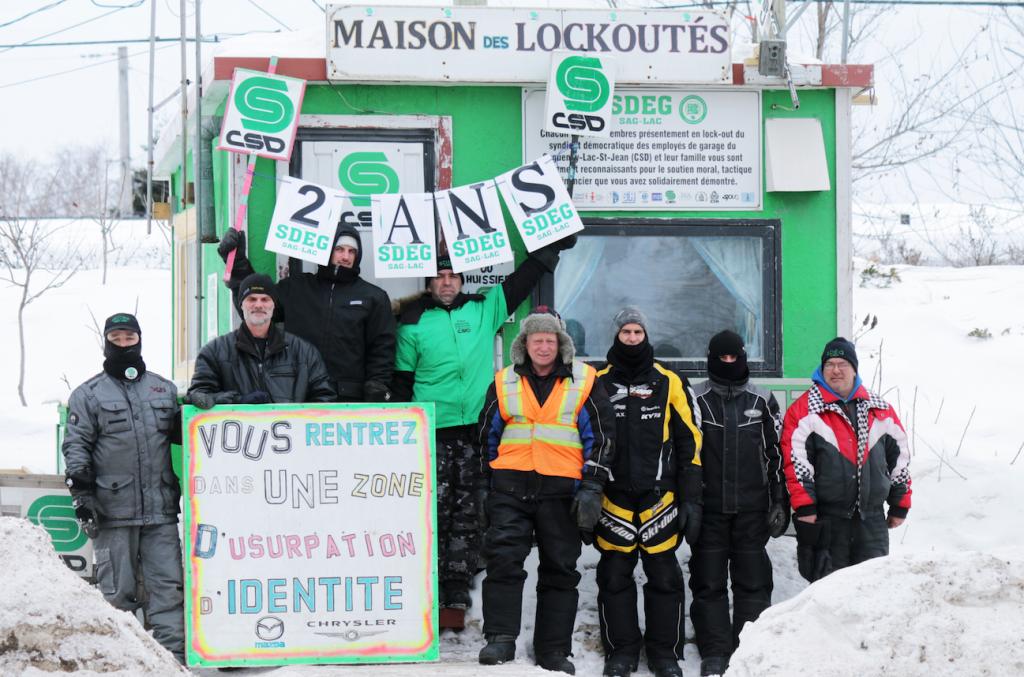 Lockout au Saguenay