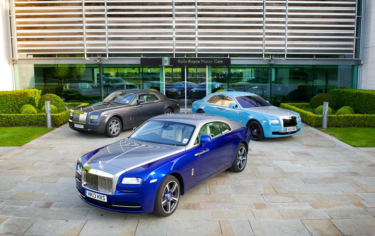 Famille des voitures Rolls-Royce
