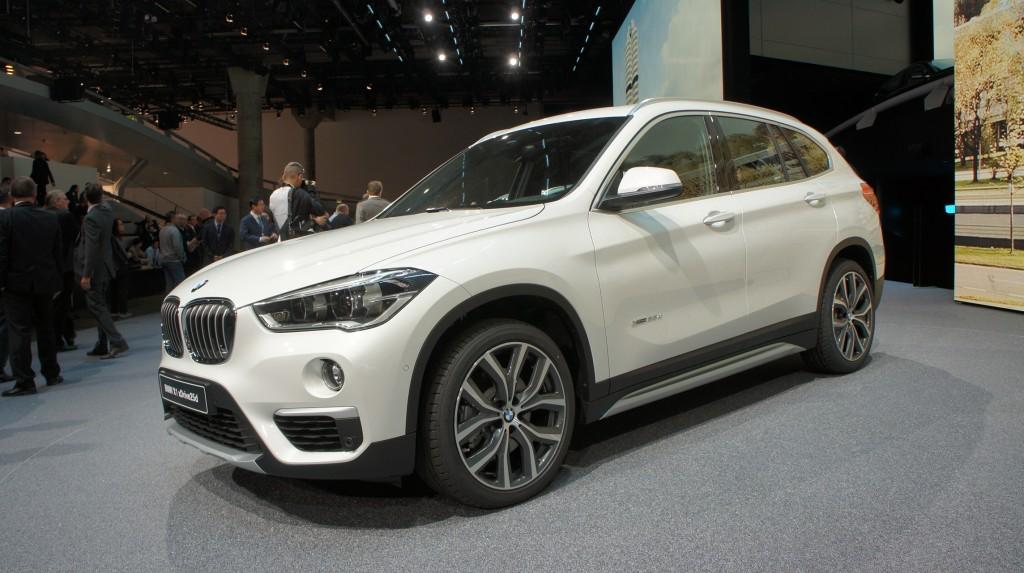 BMW X1 IAA Francfort 2015
