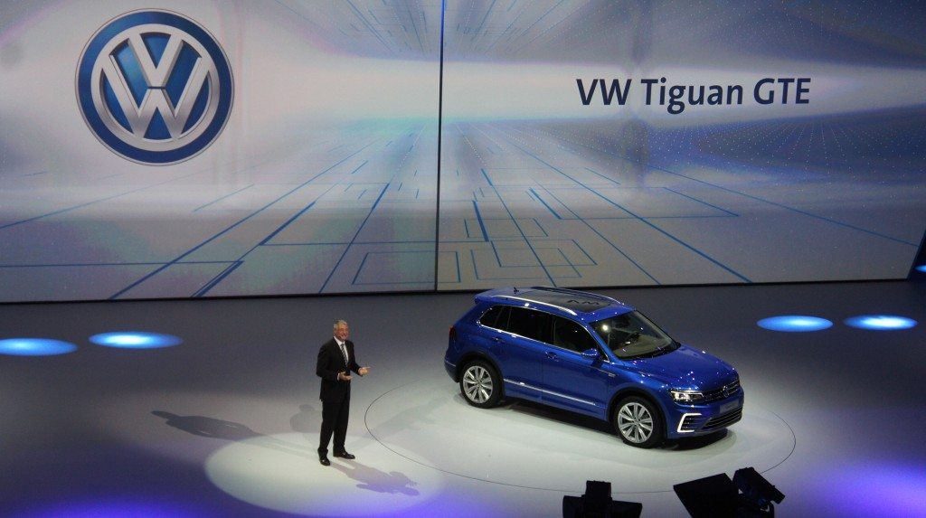 VW TIGUAN GTE FRANCFORT 2015