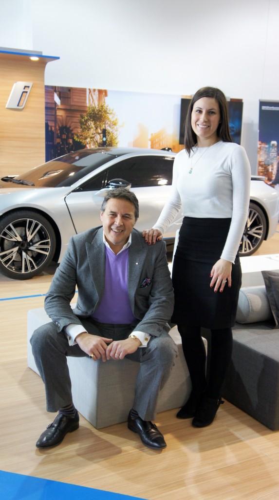 Carmine D'Argenio, directeur associé BMW MINI Laval / BMW Canbec et Anita Carmine, Directrice des ressources humaines