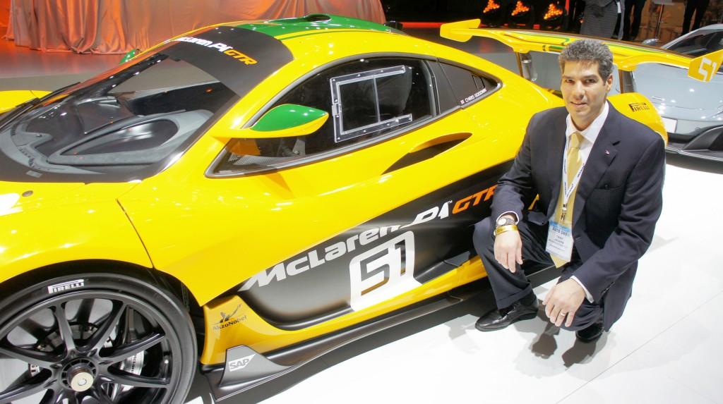 Anthony Joseph, vice-président de McLaren North America.