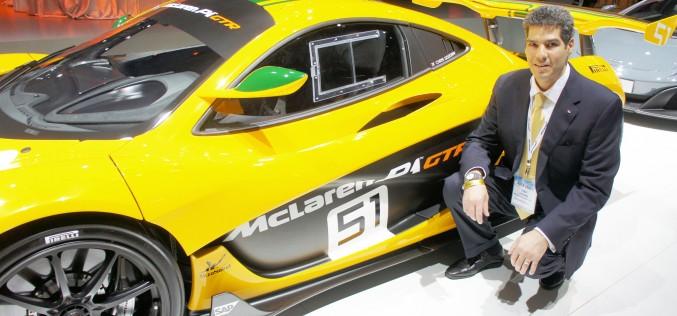 Entrevue avec Anthony Joseph, vice-président de McLaren North America.