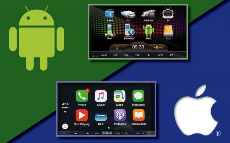 Apple CarPlay VS Android Auto: qui dit mieux?