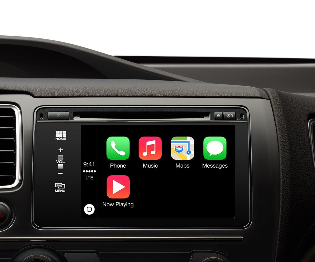 Android VS Apple - Apple CarPlay 1