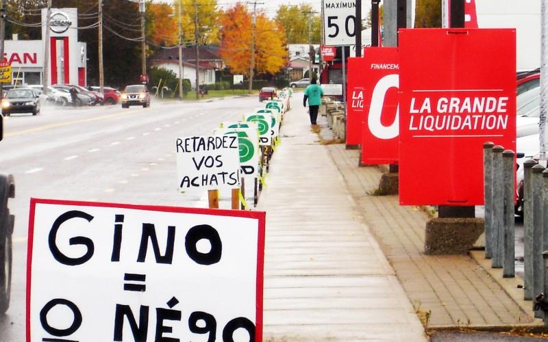 Lockout au Saguenay: Un 3e hiver dehors ?