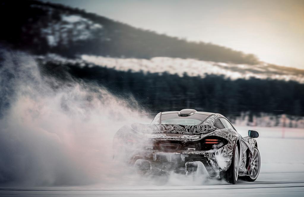 McLaren en hiver