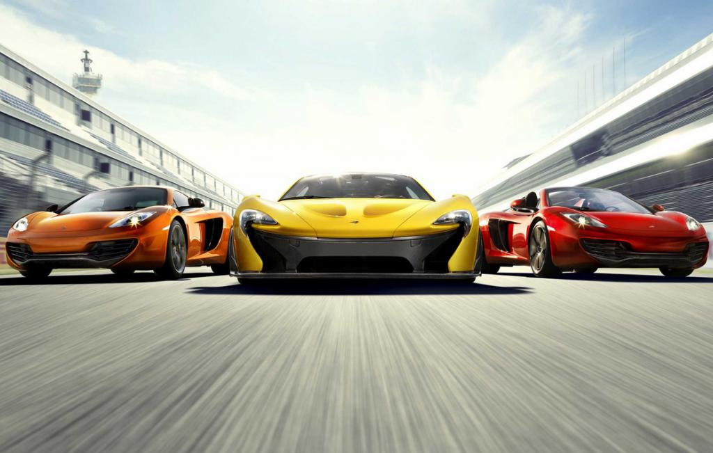 Voitures Mclaren: P1, 650S Coupe & Spider