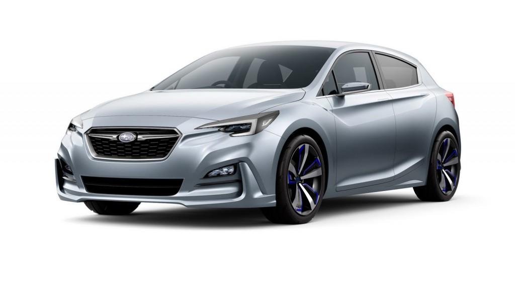 Subaru Impreza 2017 Concept