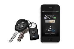 Retrouver vos clés ou votre téléphone  avec le Cobra Tag