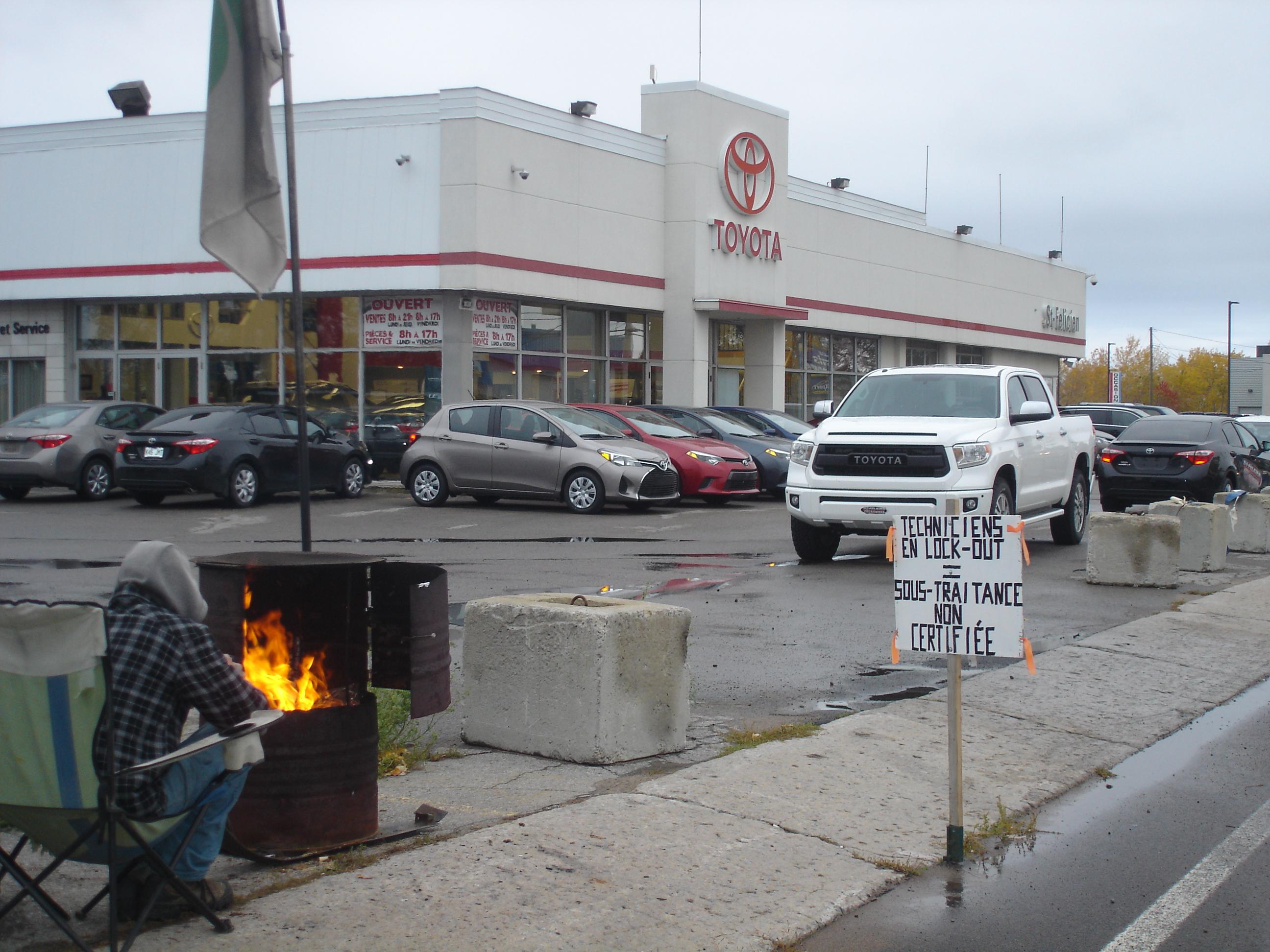 Conflit Concessionnaires Saguenay