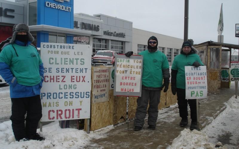 Conflit au Saguenay: surtout des perdants