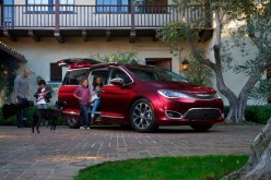 Salon de Detroit 2016: Chrysler Pacifica 2017