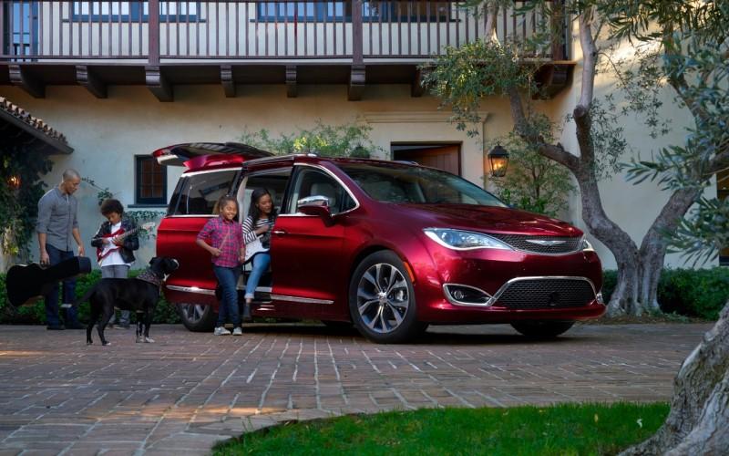 Salon de Detroit 2016: Chrysler Pacifica 2017
