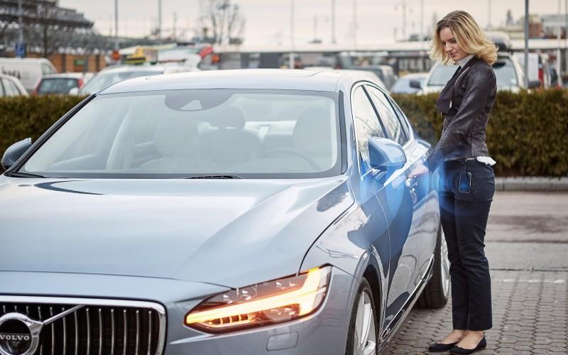 Volvo: oubliez votre traditionnel porte-clefs!