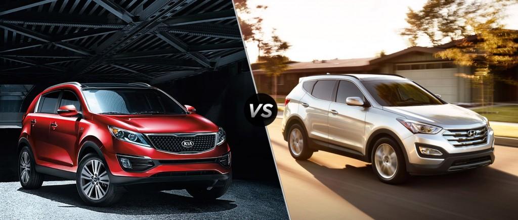 Kia Sportage VS Hyundai Tucson