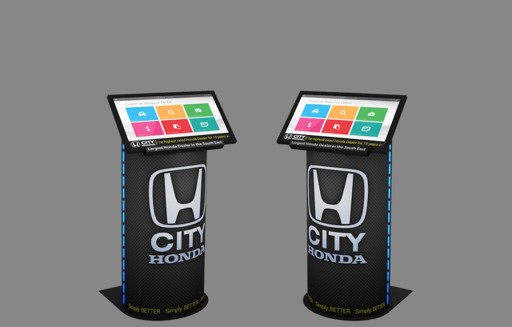 Kiosque numérique Honda