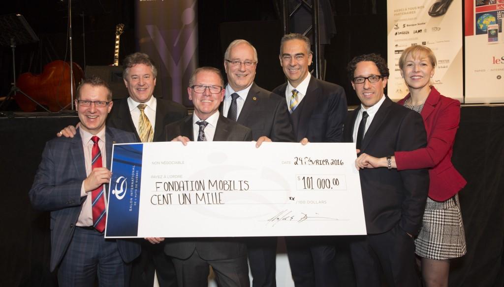 Don de 101 000$ de la Fondation Mobilis