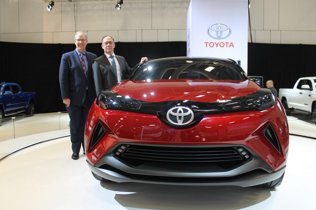 Toyota CH-R et Stephen Beatty
