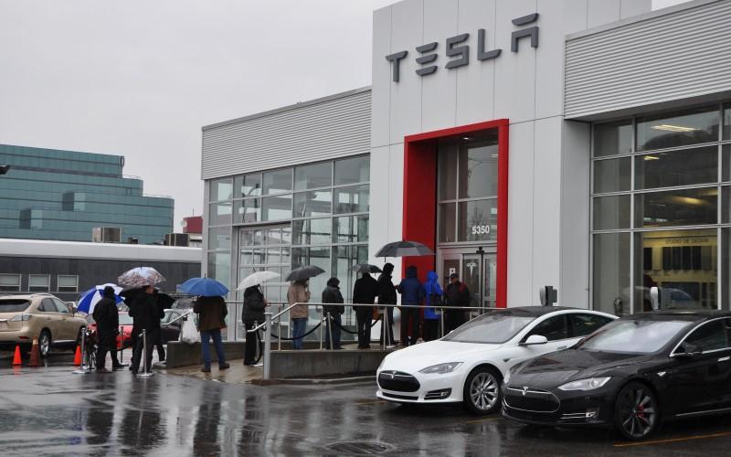 Commandes de la Tesla Model 3