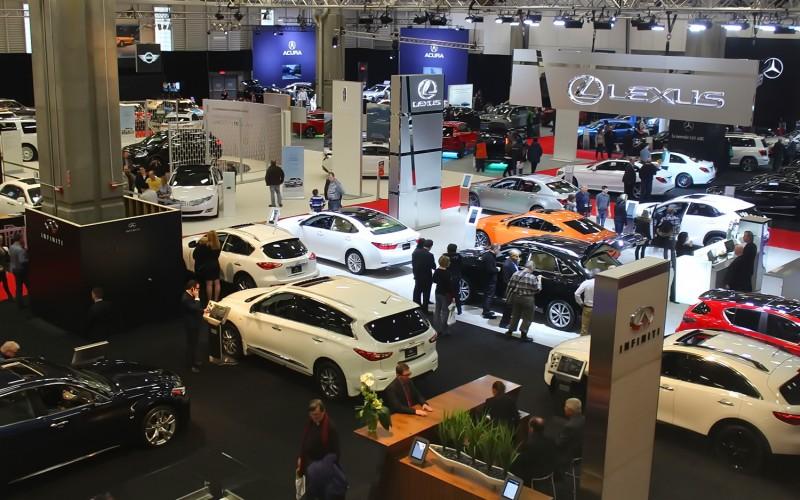 STAT ÉCLAIR : Le Salon de l'auto de Québec 2016