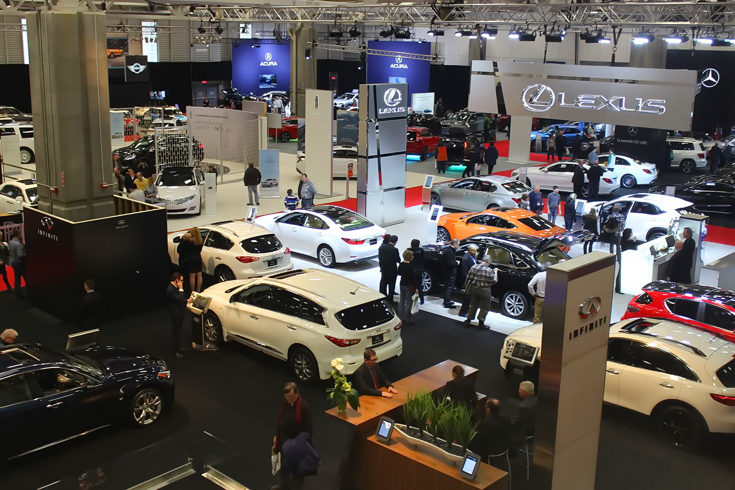 Stat clair le salon de l auto de qu bec 2016 automedia for Salon de the quebec