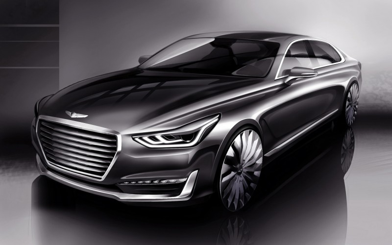 Hyundai Genesis: Un gros pari