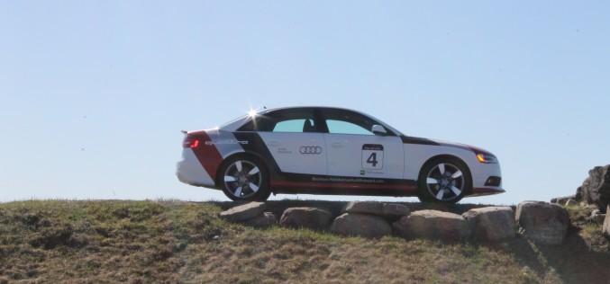 Groupe Park Avenue Audi A4: Cent clients testent la A4 2017 sur piste !