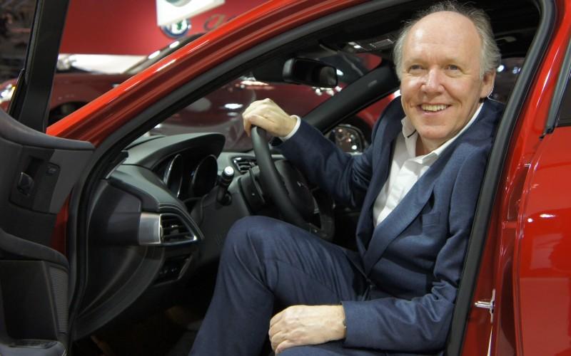 Ian Callum, directeur du design de Jaguar: La retraite ? Jamais !