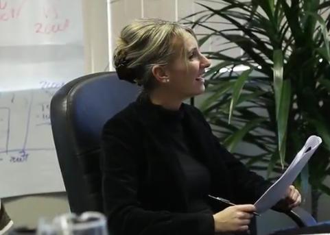 Nathalie Abdallah, directrice de la formation au Groupe financier LGM