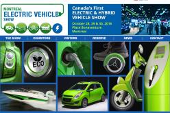 Premier salon du véhicule électrique à Montréal