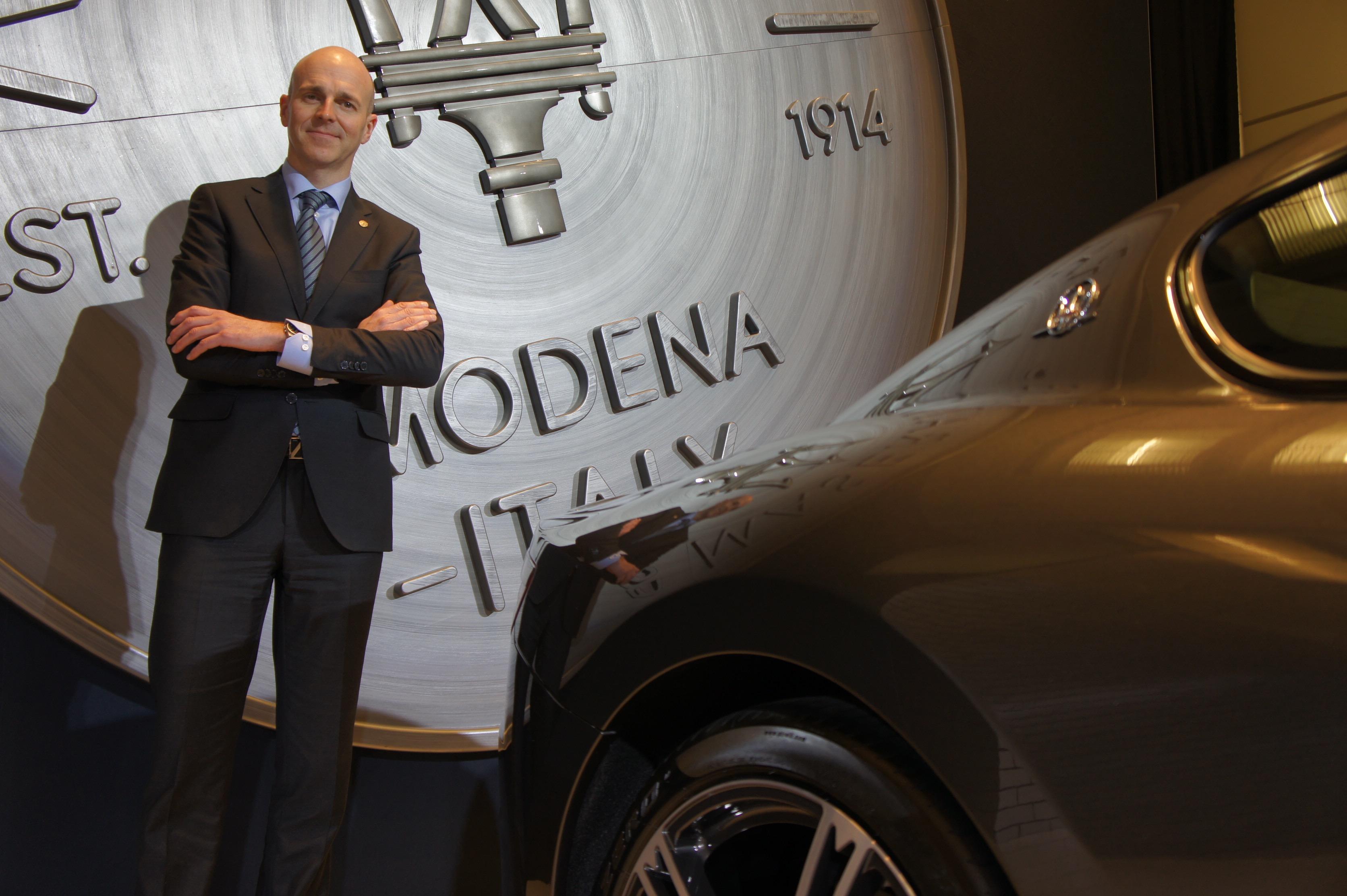 Richard Trevisan, directeur Maserati Canada