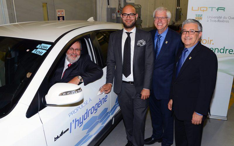 Hyundai livre le premier véhicule à pile à combustible au Québec