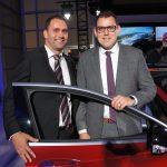 Sébastien Boisvert, vice-président ventes ALBI Infiniti Mascouche, et Kyle Wierzbicki, directeur général national Infiniti Canada.