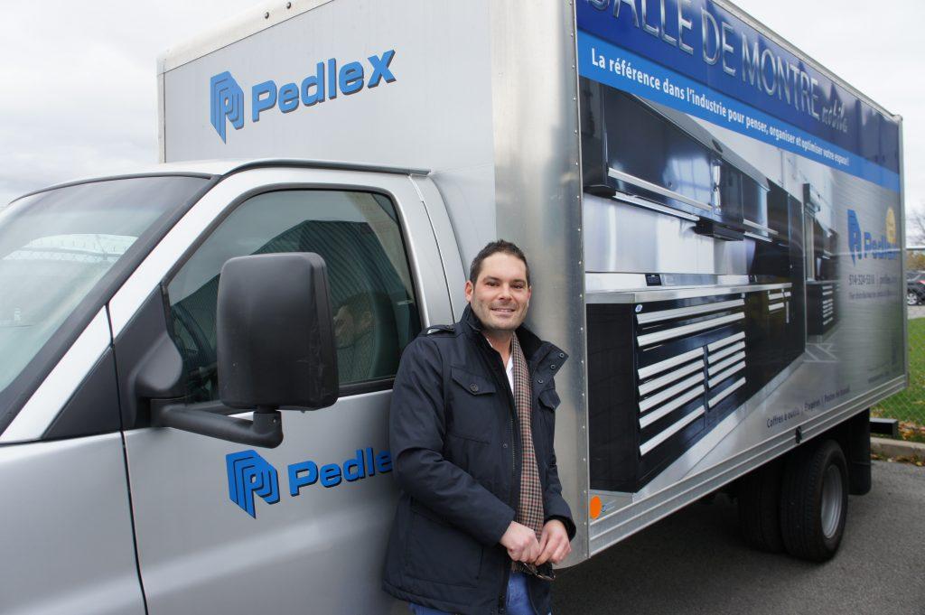 Yves Poirier, vice-président de Pedlex