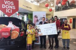 Charlesbourg Toyota collecte 11 727,90 $ au profit du Club des petits déjeuners