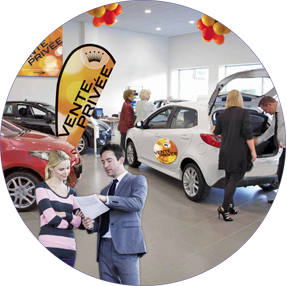 Événement de vente privée Raid Auto