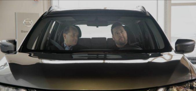 P-A Méthot est le nouveau porte-parole de Ste-Foy Nissan et Beauport Nissan