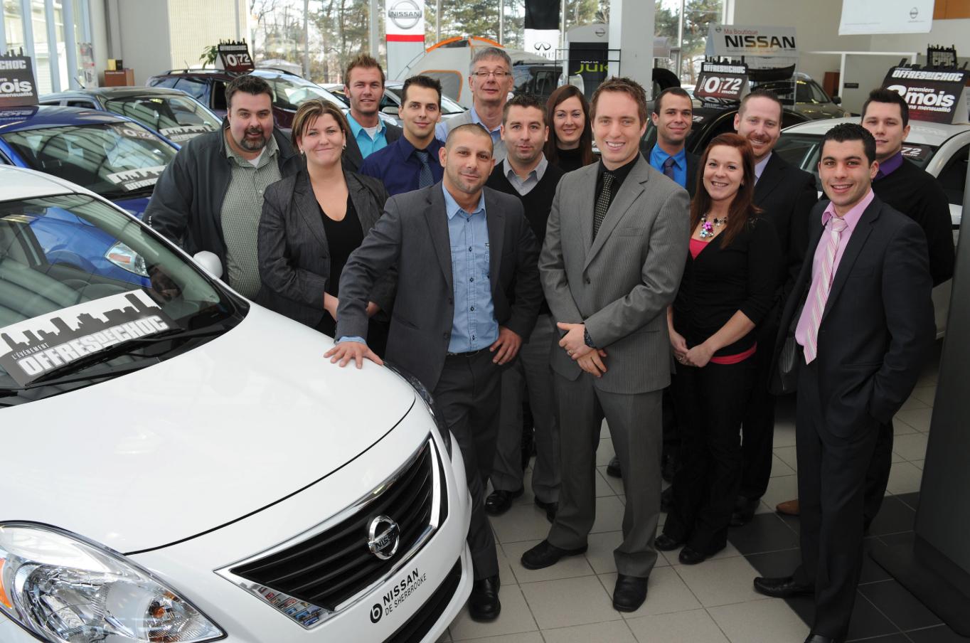 Équipe de Nissan Sherbrooke
