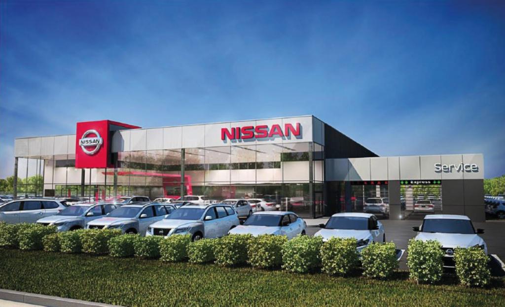 Future concession Nissan à Saint-Nicolas par le Groupe Paquet