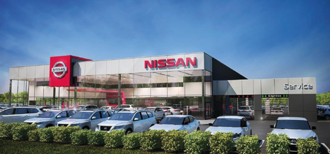 Future concession Nissan à Saint-Nicolas par le Groupe Paquet