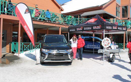 Québec Mitsubishi et Ste-Foy Mitsubishi font tirer la location d'un Outlander2017