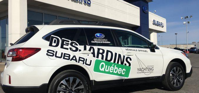 Desjardins Subaru met le cap sur le yachting !