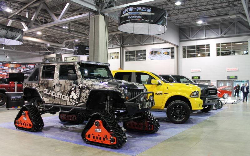 Le 48e Salon auto sport de Québec bat son plein (avec photos)