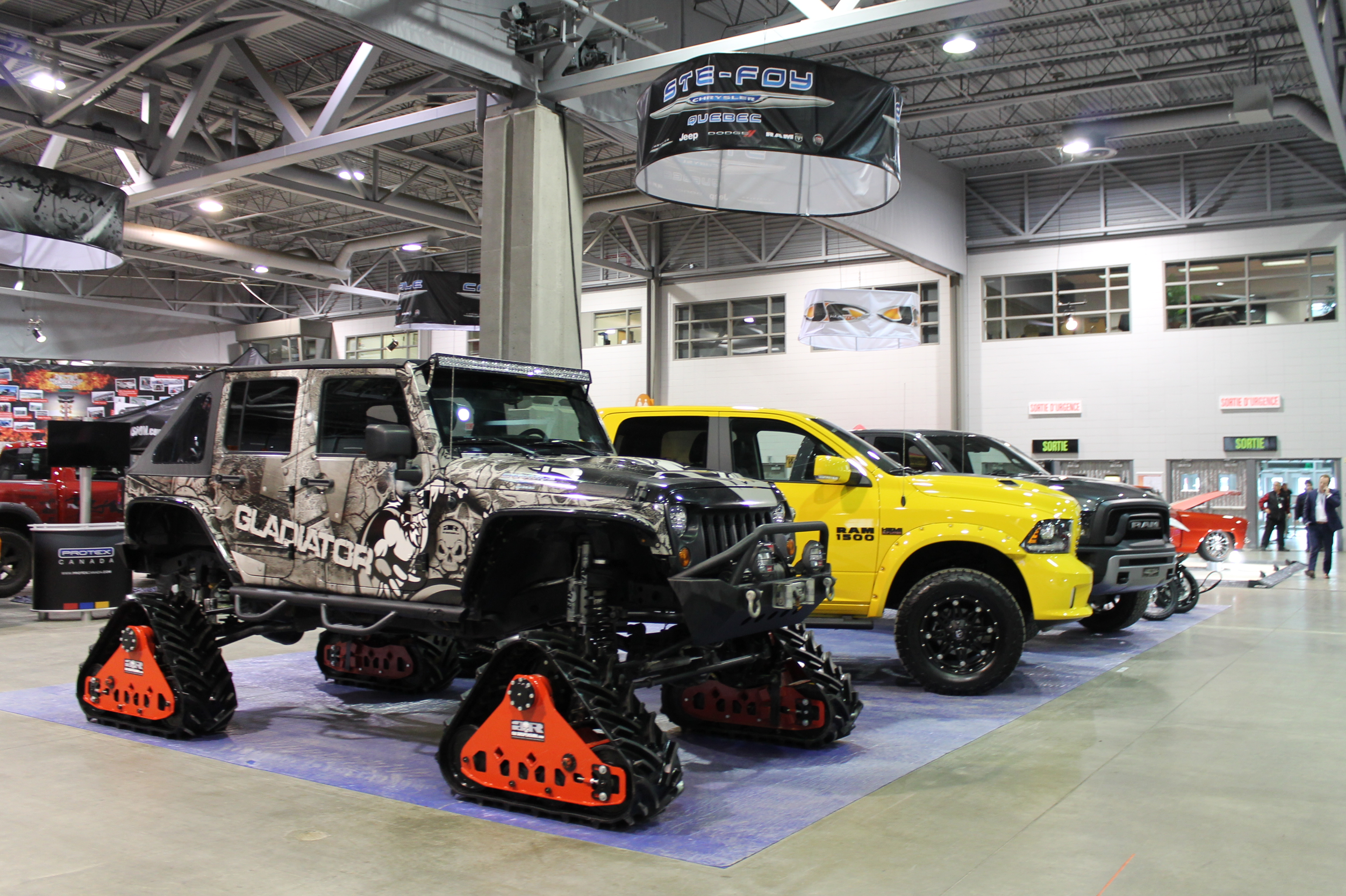 Salon de l 39 auto sport de qu bec 2017 automedia for Salon de the quebec