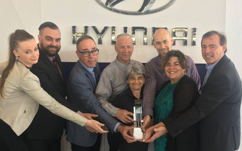 Hyundai Val-Bélair reçoit le Trophée de Certification Signature 2017