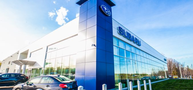 Inauguration officielle des nouvelles installations d'Option Subaru