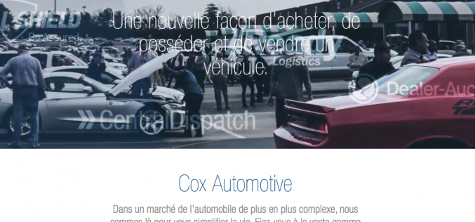 Cox Automotive dévoile son nouveau site Web canadien