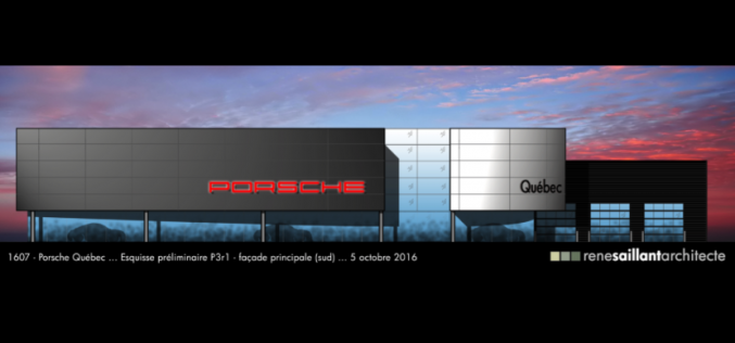 Travaux d'agrandissement reportés chez Porsche Québec